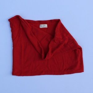 Red Brandy Melville Ribbed Tube Top! ❤️